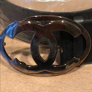 CHANEL buckle belt- Size 85 EXCELLENT CONDITION